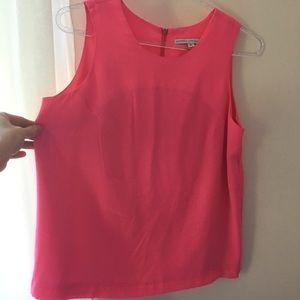 Pink Silk Amanda Uprichard blouse
